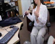 Foxy Huge Boobs Business Lady Screwed Up For Money - scene 5
