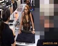 Crazy Biatch Pawns Her Pussy At The Pawnshop For Money - scene 2