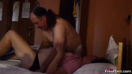 Mature Parents Fucks For Christmas Night - scene 5