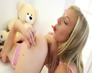 Sweet Teenagers Deep Dildoing Anuses - scene 4