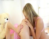 Sweet Teenagers Deep Dildoing Anuses - scene 5