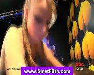 Bukake Fetish Slut Drinks - scene 6