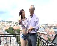 Hot Euro Teen Gets Cum - scene 2