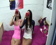 Horny Beautiful Lesbians Licking Holes - scene 6