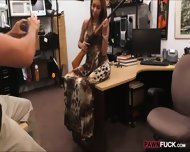 Busty Biatch Pawns Her Sweet Pussy At The Pawnshop For Money - scene 3