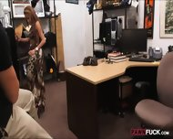 Busty Biatch Pawns Her Sweet Pussy At The Pawnshop For Money - scene 4