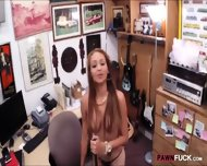 Busty Biatch Pawns Her Sweet Pussy At The Pawnshop For Money - scene 7