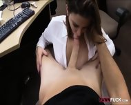 Foxy Business Woman Fucked By Pawn Man After Making A Deal - scene 9