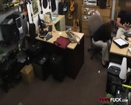 Foxy Business Woman Fucked By Pawn Man After Making A Deal - scene 4