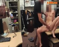 Small Tits Blonde Bimbo Sells Herself For A Fuck On Tape - scene 6