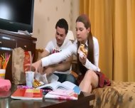 Teen In Shoes Anal Fucked - scene 3