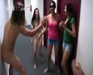 College Horny Students Intercourse In Hall - scene 1