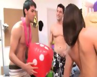 Young Students Erotica On College Party - scene 3