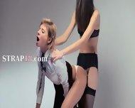 Neverending Strap-on Lesbs Action - scene 9