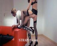 Neverending Strap-on Lesbs Action - scene 12