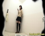 Peeing Asians Hairy Muff - scene 8