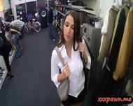 Stunning Babe Pawned Her Pussy And Banged In The Pawnshop - scene 4