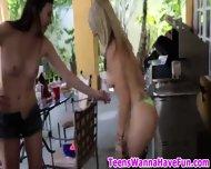 Teen Sluts Party Outside - scene 2