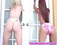 Teen Sluts Party Outside - scene 4