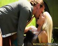 Pissed On Blonde Babe - scene 9