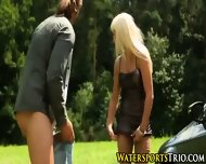 Pissed On Blonde Babe - scene 11