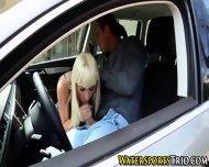 Pissed On Blonde Babe - scene 4
