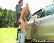 Pissed On Blonde Babe - scene 7