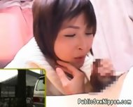 Publicsex Loving Nippon Fucked In A Car - scene 7