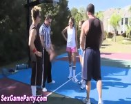 Naked Basketball Sex Game - scene 1