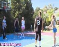 Naked Basketball Sex Game - scene 2