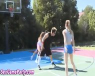 Naked Basketball Sex Game - scene 3