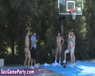 Naked Basketball Sex Game - scene 6