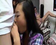 19yo Babe Enjoying Hard Dick On College - scene 1