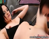 Fingered Tattoed Lesbo - scene 4