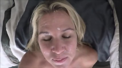 Amateur Facial For My Wife - scene 6