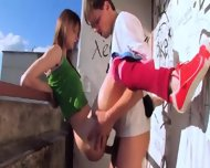 Amazing Teenagers Place To Sex - scene 11