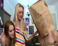 College Sluts Stroke Cock - scene 12