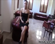 Eurobabe Athina Love Flashes Tits And Fucked For Money - scene 7