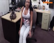 Big Titty Latina Gives Head And Pounded For Some Cash - scene 4