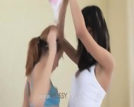 Sweet Panties Of Skinny Girl2girl - scene 2