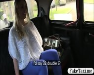 Big Hooters Customer Banged In The Taxi With Pervert Driver - scene 1
