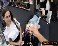 Pretty Stewardess Fucked With Pawnkeeper At The Pawnshop - scene 1