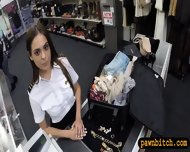 Pretty Stewardess Fucked With Pawnkeeper At The Pawnshop - scene 2