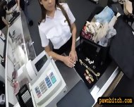 Pretty Stewardess Fucked With Pawnkeeper At The Pawnshop - scene 3