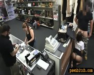 Pretty Stewardess Fucked With Pawnkeeper At The Pawnshop - scene 4