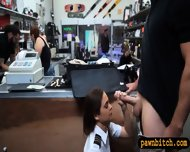 Pretty Stewardess Fucked With Pawnkeeper At The Pawnshop - scene 5