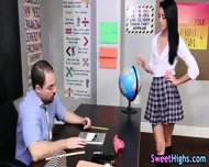 Teen Student Gets Rimjob - scene 2