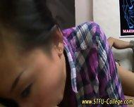 Asian Teen Rides Cock - scene 1