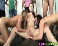 Hazed Teen Pussy Slammed - scene 5