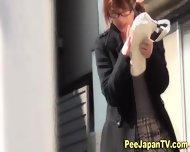 Japanese Streetside Piss - scene 8